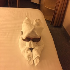 Port Canaveral, Florida - Towel Animal