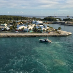 Freeport, Grand Bahama Island - View from the deck