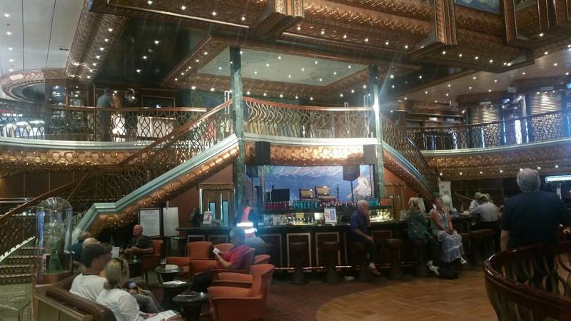 Carnival Spirit, Bar, Lobby Bar