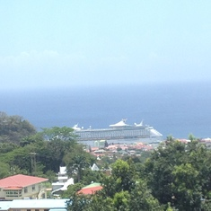 On tour in Dominica