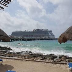 Costa Maya (Mahahual), Mexico - Our favorite Port