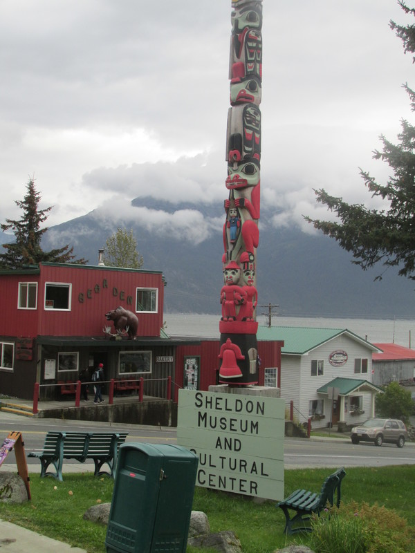 What's Alaska without totem poles? - Crown Princess