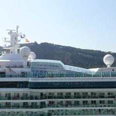 Barcelona, Spain - Brilliance of the Seas - Solarium