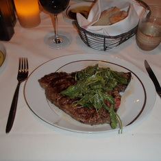 Steak at La Cucina