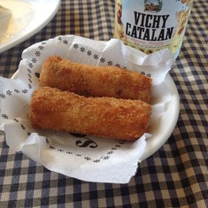 Tapas 24 in Barcelona -- croquettes