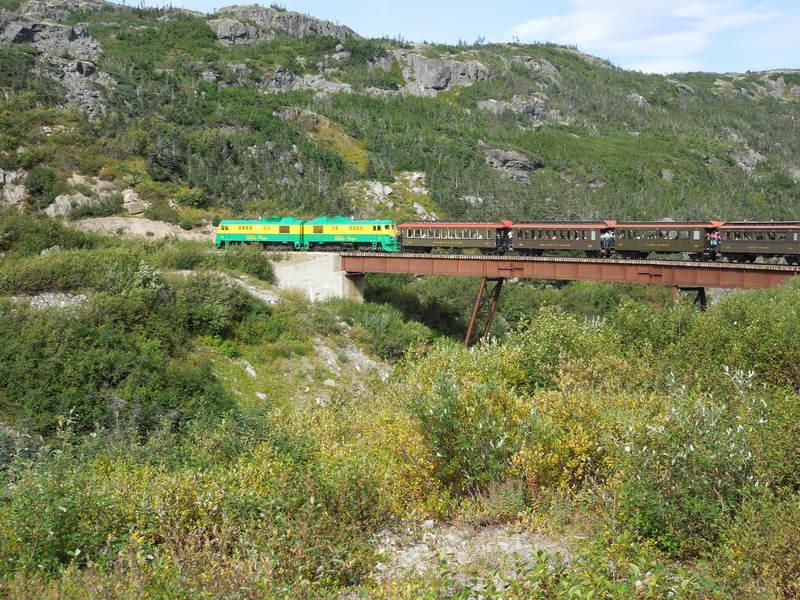 Train ride to White Pass - Norwegian Pearl