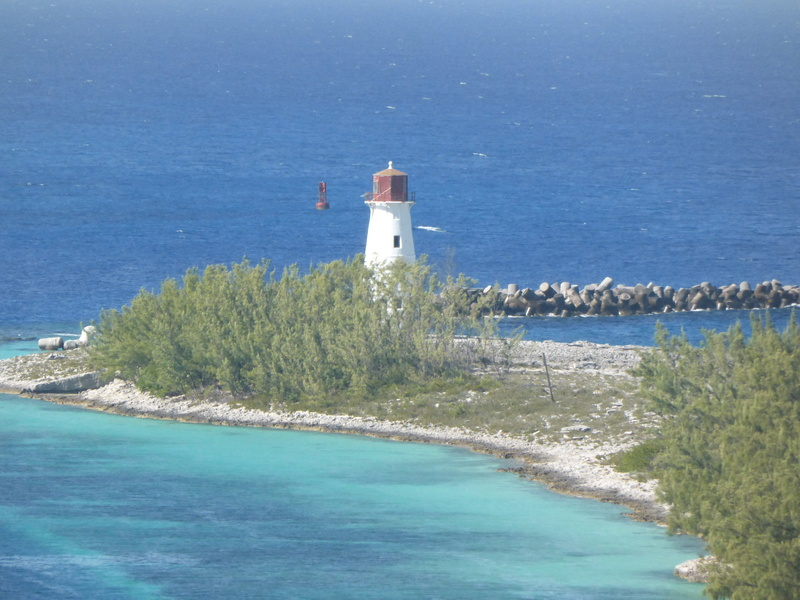 Lighthouse at Nassau - Allure of the Seas