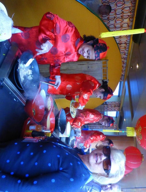 Getting my meal cooked - Amsterdam