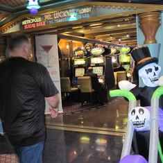 garding the casino