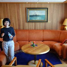 Pinnacle Suite Living Room.  Cabin 7001