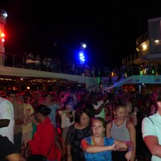Party on Lido Deck