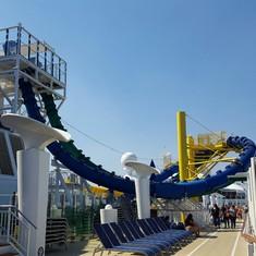 Aqua Park on Norwegian Escape