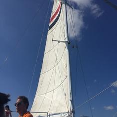 Catamaran snorkling tour