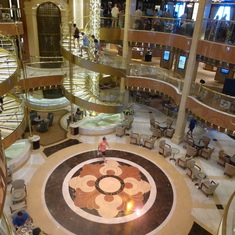 Regal Princess Atrium