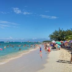 Beach in Grand Turk