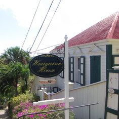 Charlotte Amalie, St. Thomas - Historic house on Walking tour St. Thomas