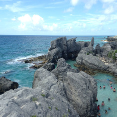 Royal Naval Dockyard, West End, Bermuda - Horseshoe Bay