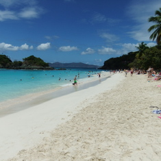 Trunk Bay Beach