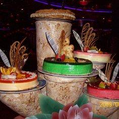 Midnight grand buffet.