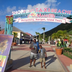 Philipsburg, St. Maarten - Leaving St.Martin
