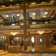 Port Canaveral, Florida - The view from the lobby