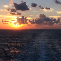 Ft. Lauderdale (Port Everglades), Florida - Sunset