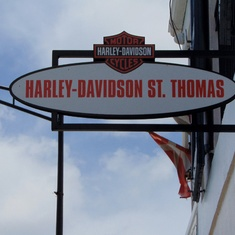 Who can resist a Harley Shop?