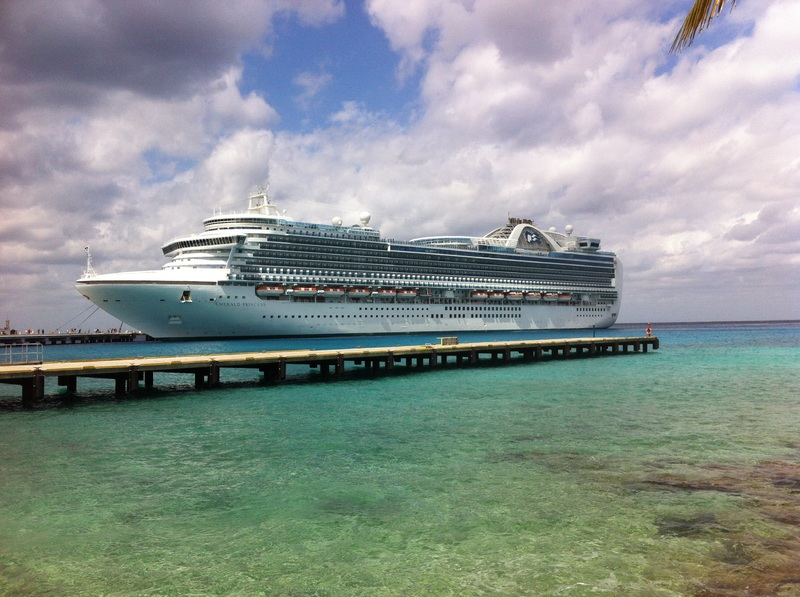 Emerald princess in cozumel - Emerald Princess