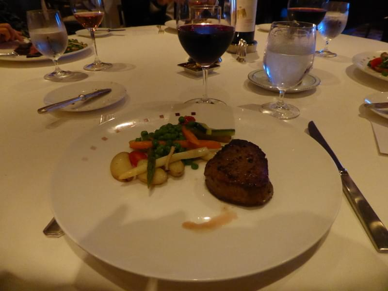 Dinner is Served - Nprmandie Restaurant - Celebrity Summit
