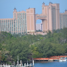 Atlantis. That connecting room.. $25k a night. Minimum 3 night stay.