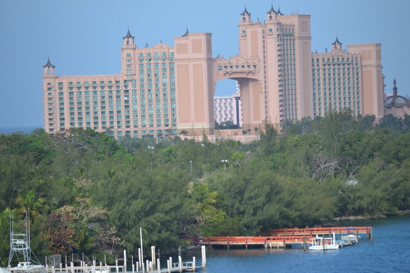 Atlantis. That connecting room.. $25k a night. Minimum 3 night stay. - Carnival Glory