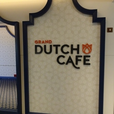 Sign of the Grand Dutch Cafe