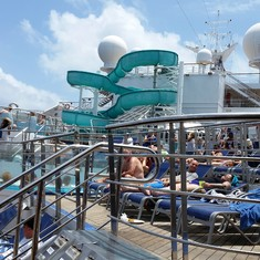 Water slide (Lido deck)