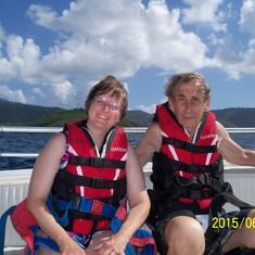 Charlotte Amalie, St. Thomas - My para sailing buddy.