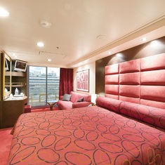 Balcony Stateroom on MSC Fantasia