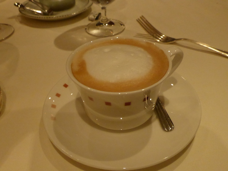 Capuccino - Normandie - Celebrity Summit