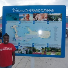 The Grand Cayman Islands!