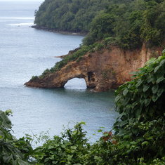 St. Lucia rock formation