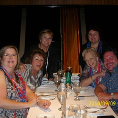 Dining and Cruising with friends is the best!