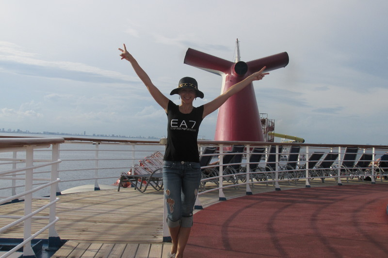 walking around - Carnival Ecstasy