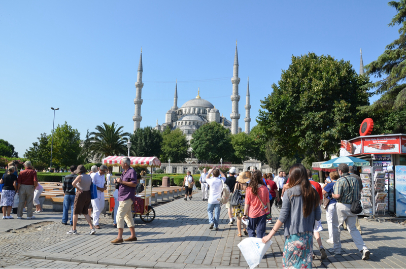 Picture Of Blue Mosque Istanbul Turkey Ruby Princess