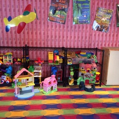 Kids playing room