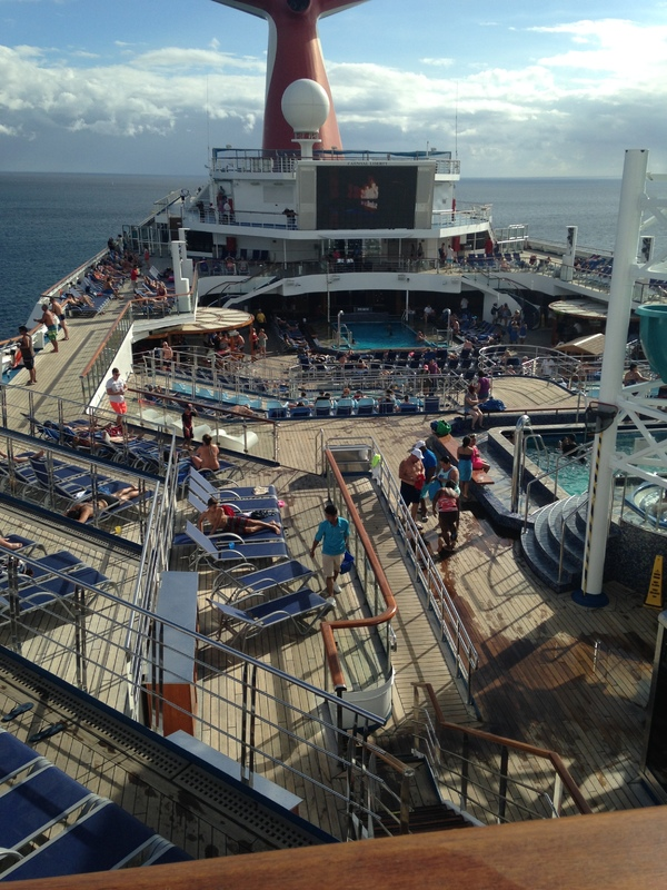 most people in port yet - Carnival Liberty