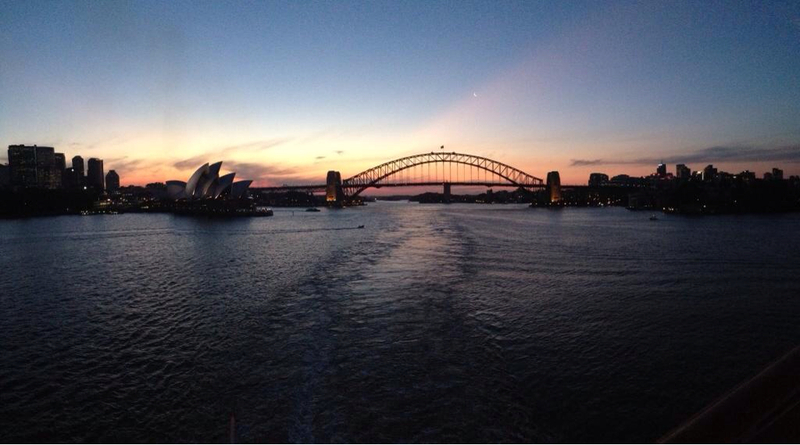 Sydney, Australia - Sydney Harbour - Leaving For Our Cruise