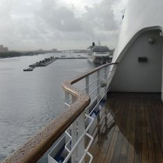 Docking at Nassau