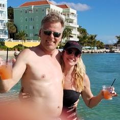 Aruba Blue Bar