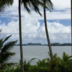 Hilo, Hawaii - The Crown Princess across the bay.