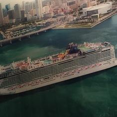 pic of getaway ship