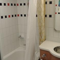 Bath and 1/2. convenient.