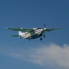 Philipsburg, St. Maarten - St. Barts Commuter plane
